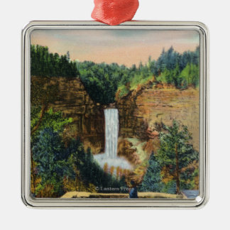 View of Taughannock Falls # 2 Christmas Ornament