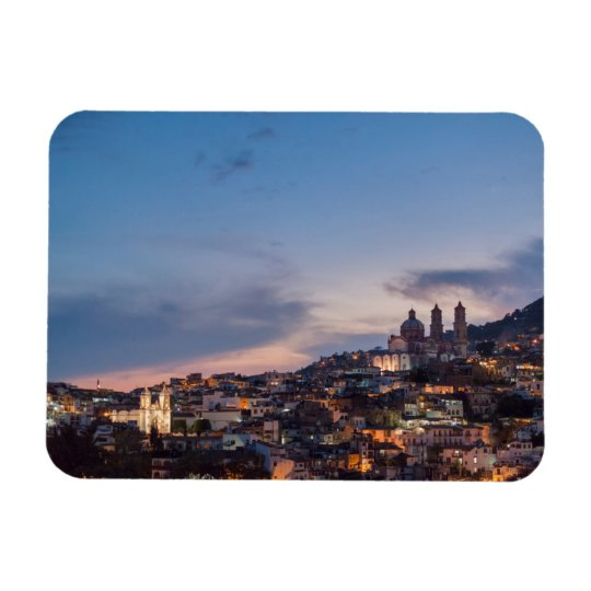 View Of Taxco In Guerrero, Mexico Magnet