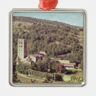 View of the Abbey and the church tower Christmas Ornament