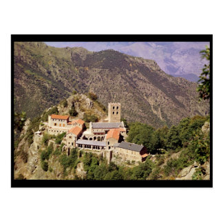 View of the Abbey of St. Martin du Canigou Postcard