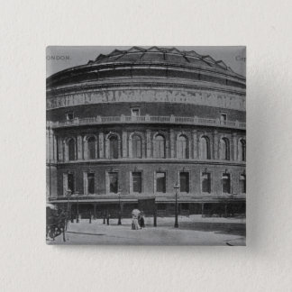 View of the Albert Hall, c.1900 15 Cm Square Badge