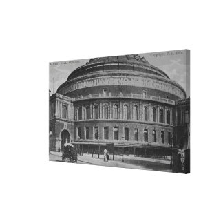 View of the Albert Hall, c.1900 Canvas Print