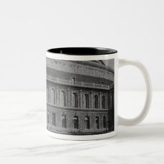View of the Albert Hall, c.1900 Two-Tone Coffee Mug