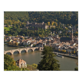 View of the Alte Brucke or Old Bridge Poster