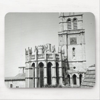 View of the apse and the tower, built mouse pad