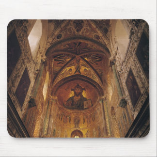 View of the apse with the Christ Pantocrator Mouse Pad