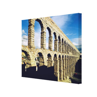 View of the aqueduct canvas print