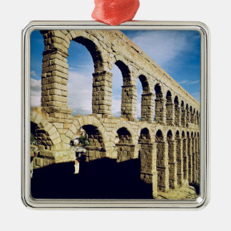 View of the aqueduct christmas ornament