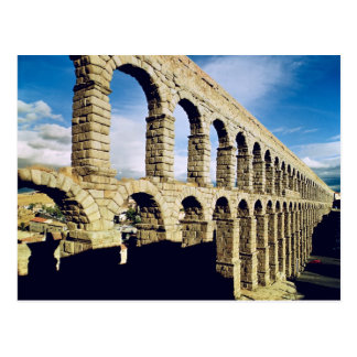 View of the aqueduct postcard