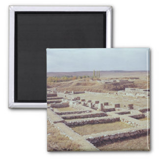 View of the archaeological site, 1450-1200 BC Magnet