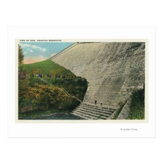 View of the Ashokan Reservoir Dam Post Card