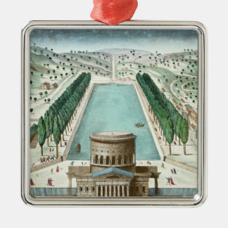 View of the Barriere Saint-Martin Christmas Ornament