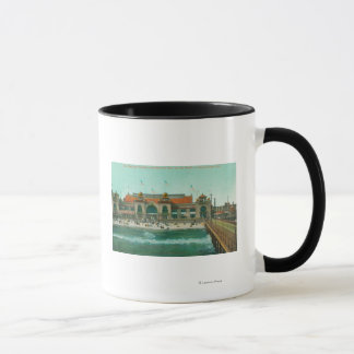 View of the Bathing Pavilion and Electric Pier Mug