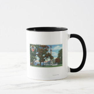 View of the Battle Monument Mug