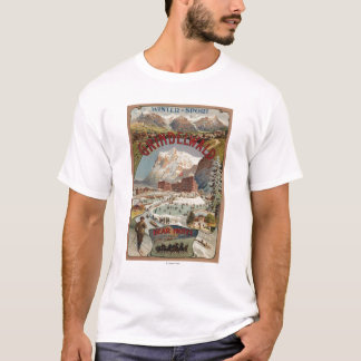 View of the Bear Hotel Promotional Poster T-Shirt