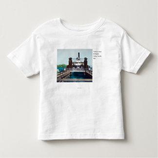View of the Berkeley Ferryboat Trade Fair Toddler T-Shirt