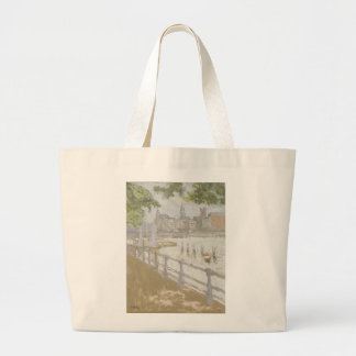 View of the Binnenalster, 1913 Large Tote Bag