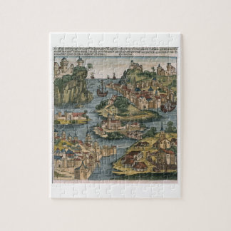 View of the Bosporus entering from the Black Sea, Puzzle