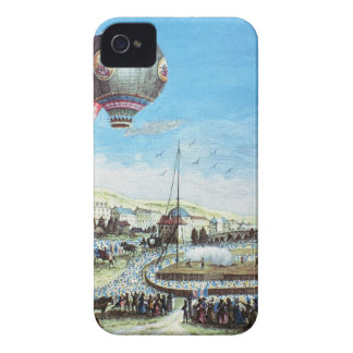 View of the Brolteaux in Lyon and the third flight iPhone 4 Case