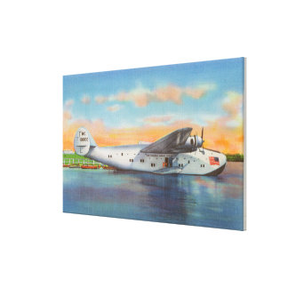 View of the California Clipper Plane Stretched Canvas Prints