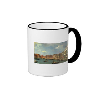 View of the Canal of Santa Chiara, Venice Ringer Mug