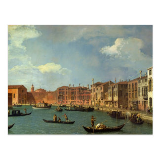 View of the Canal of Santa Chiara, Venice Postcard