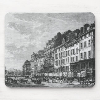 View of the Canebiere at Marseilles Mouse Pad