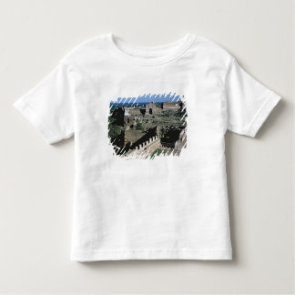 View of the castle, 8th-12th century toddler T-Shirt
