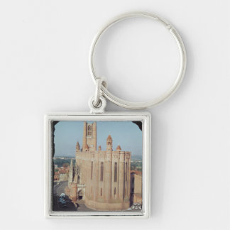 View of the Cathedral of Sainte-Cecile Key Ring