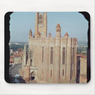 View of the Cathedral of Sainte-Cecile Mouse Mat
