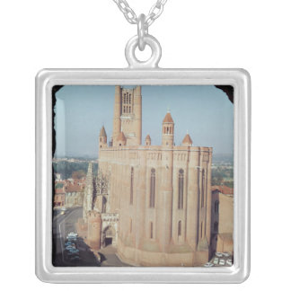 View of the Cathedral of Sainte-Cecile Necklace