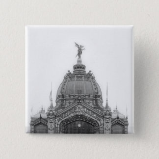 View of the Central Dome 15 Cm Square Badge