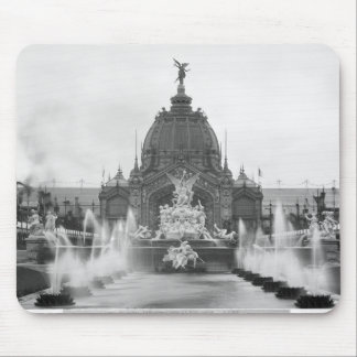 View of the Central Dome and the Fountain Mouse Mat
