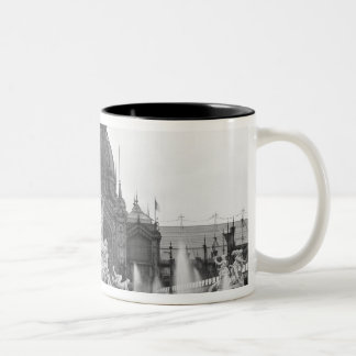 View of the Central Dome and the Fountain Two-Tone Coffee Mug