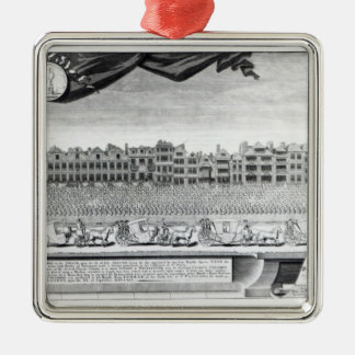 View of the Charity Children in the Strand Christmas Ornament