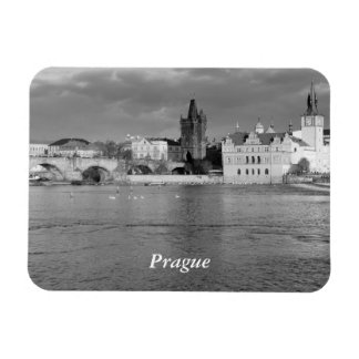 View of the Charles Bridge in Prague Magnet