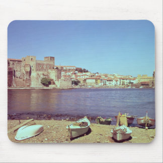 View of the Chateau des Templiers Mouse Pad