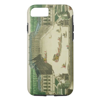 View of the Chateau of St. Cloud, engraved by Anto iPhone 8/7 Case