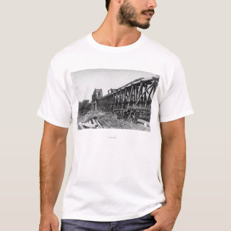 View of the Chico-Oroville Bridge T-Shirt