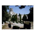 View of the Church of Saint-Honoratus Postcard