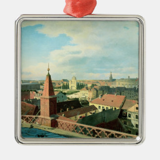View of the city of Berlin with Altes Museum Christmas Ornament