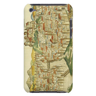 View of the city of Cracow (Kracow), from the Nure iPod Case-Mate Cases
