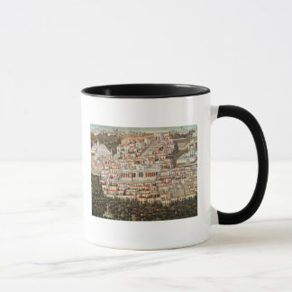 View of the city of Damascus Mug