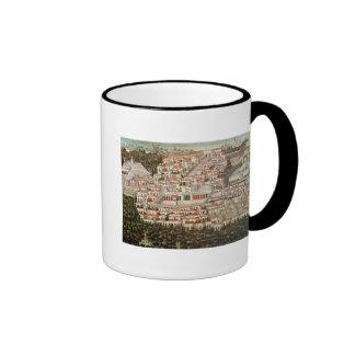 View of the city of Damascus Ringer Mug