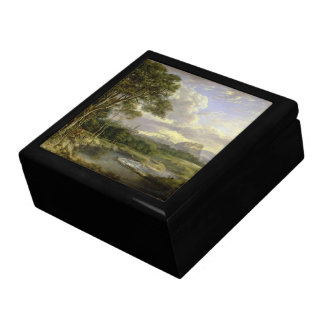 View of the City of Edinburgh c1822 Large Square Gift Box