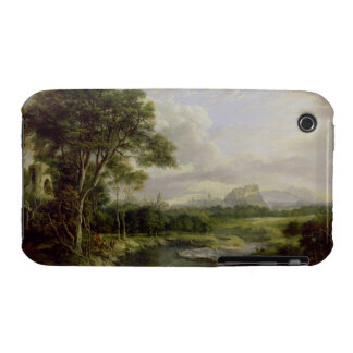 View of the City of Edinburgh, c.1822 (oil on canv iPhone 3 Covers