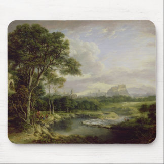 View of the City of Edinburgh, c.1822 (oil on canv Mouse Mat