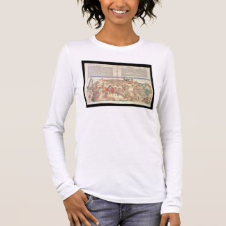 View of the city of Jerusalem, from the Nuremberg Long Sleeve T-Shirt