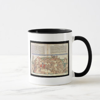 View of the city of Jerusalem, from the Nuremberg Mug
