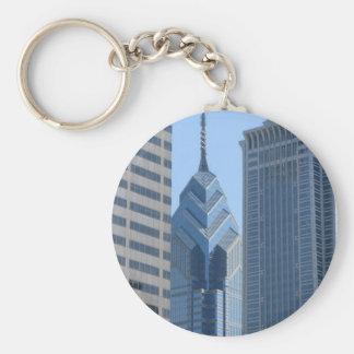 View of the City of Philadelphia Key Chain